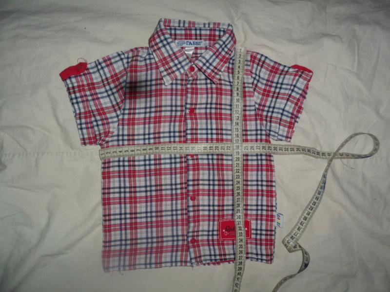 Рубашка обманка для мальчика - Фото 3