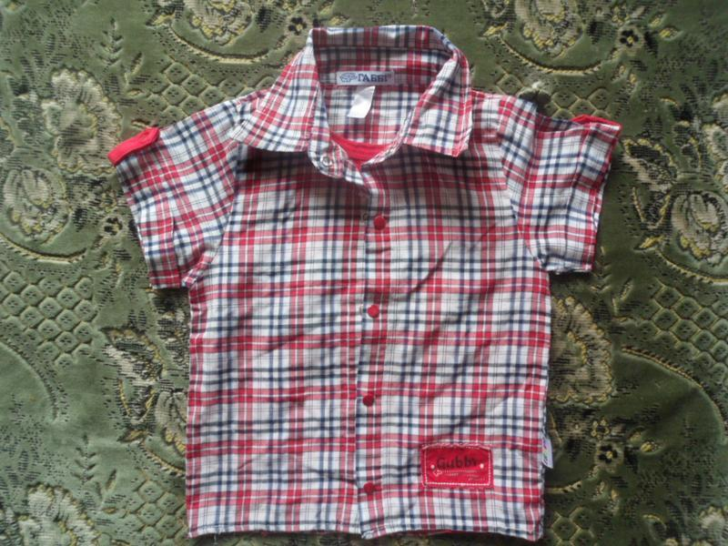 Рубашка обманка для мальчика - Фото 4
