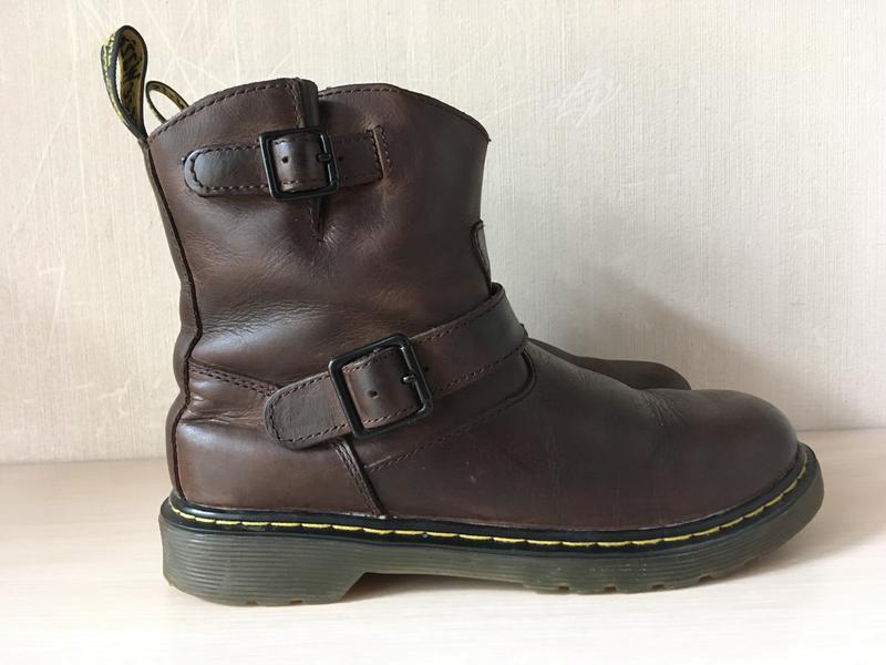 Кожаные ботинки dr. martens girl's blip оригинал