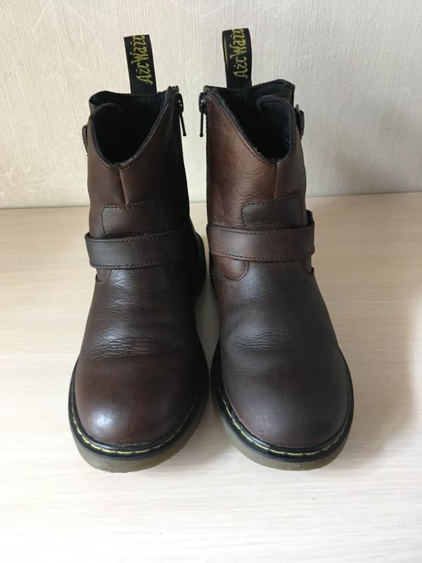Кожаные ботинки dr. martens girl's blip оригинал - Фото 2