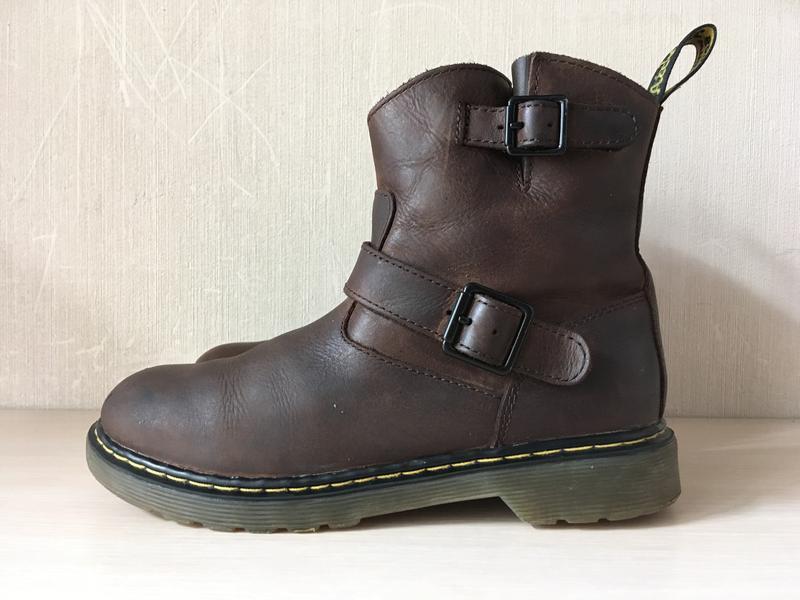 Кожаные ботинки dr. martens girl's blip оригинал - Фото 5