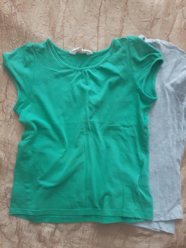 Комплект футболок h&m - Фото 2