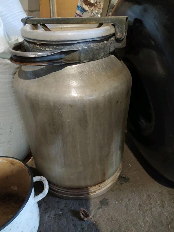 Бідон 50л алюмінієвий для меду молока