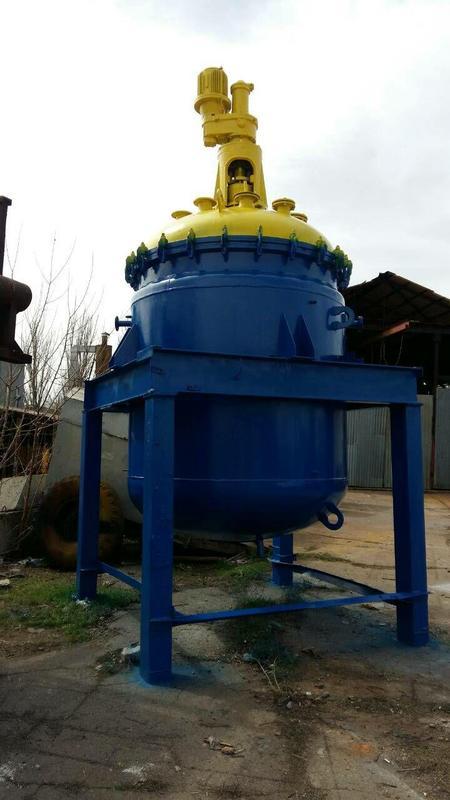 Реактор эмалированный 4 , 6,3 , 10 , 25 м.куб. СЭРН