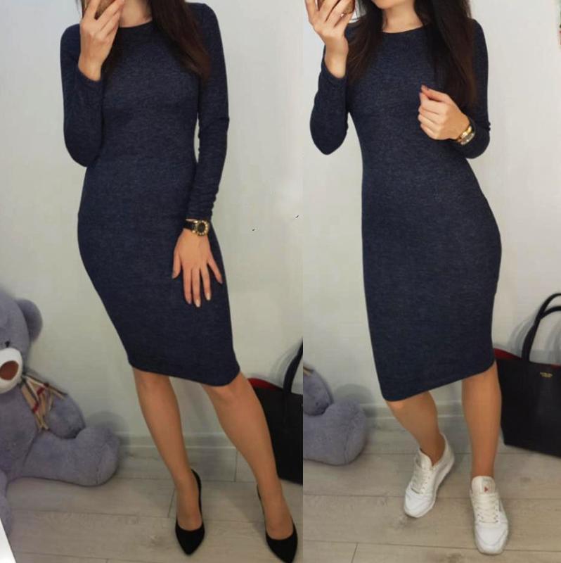 Теплое платье с ангорки