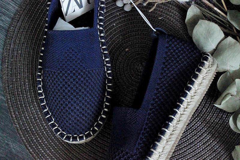 Эспадрильи мокасины zara - Фото 6