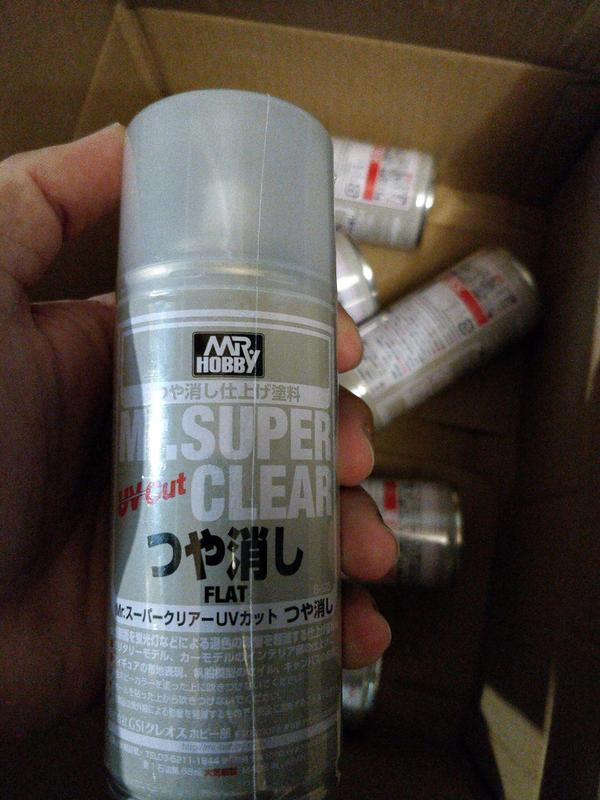 Mr. Super Clear Flat UV (Matt) 170 ml - Клир Матовый УФ для кукол
