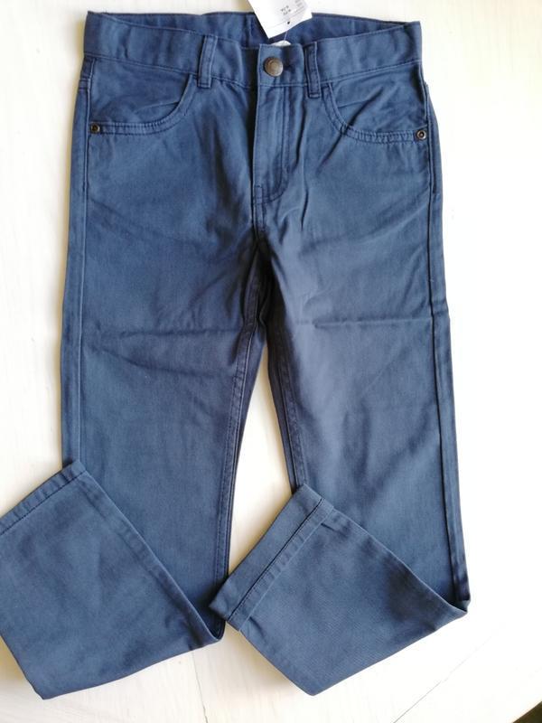 Твиловые брюки   h&m - Фото 6