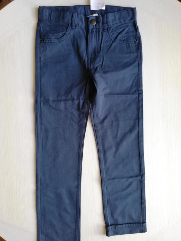 Твиловые брюки   h&m - Фото 10