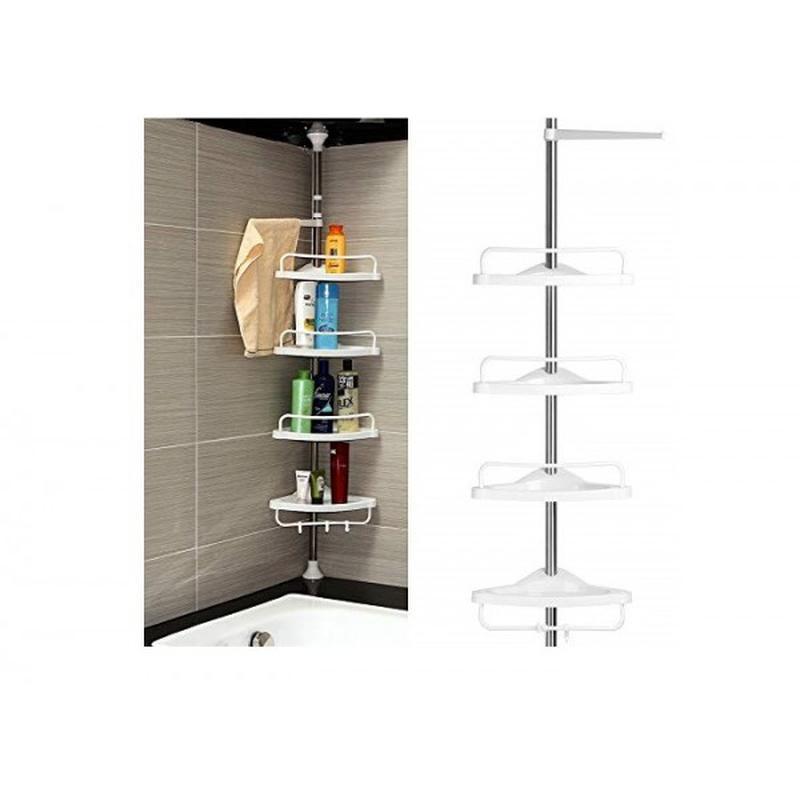 Угловая полка для ванной Multi Corner Shelf GY-188 - Фото 2