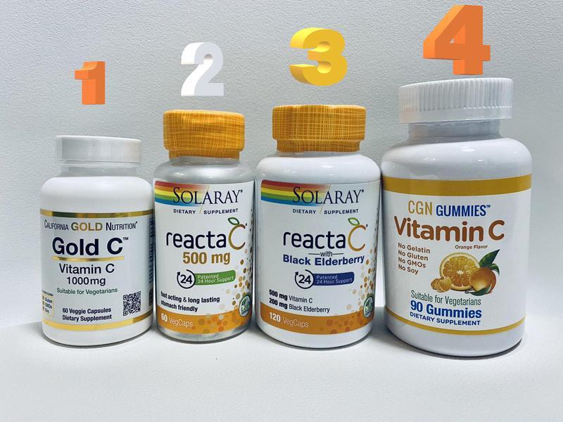 Витамин C Vitamin C Вітамін С