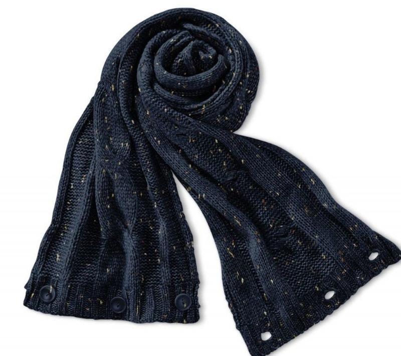 Шикарный шарф снуд 28х180см tcm tchibo германия