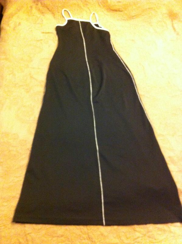 Черное платье-сарафан - Фото 4