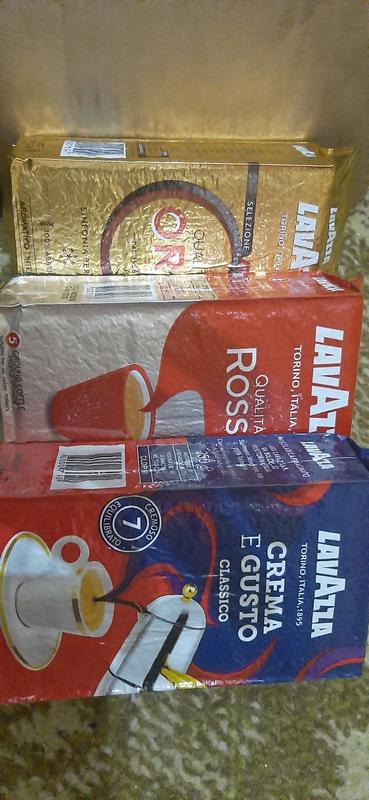Lavazza Лавацца Лаваза 250  гр Oro Rossa Gusto Кава Кофе Coffee!! - Фото 2