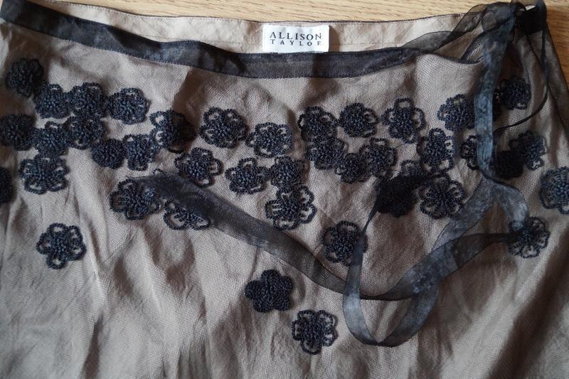 Юбка сетка от британского бренда allison taylor - Фото 4