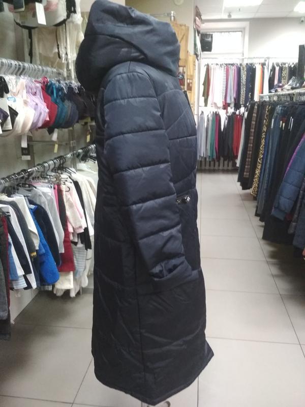 Зимнее женское пальто - Фото 4