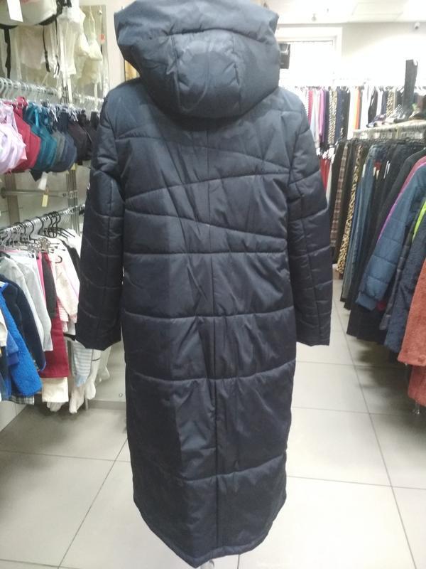 Зимнее женское пальто - Фото 5