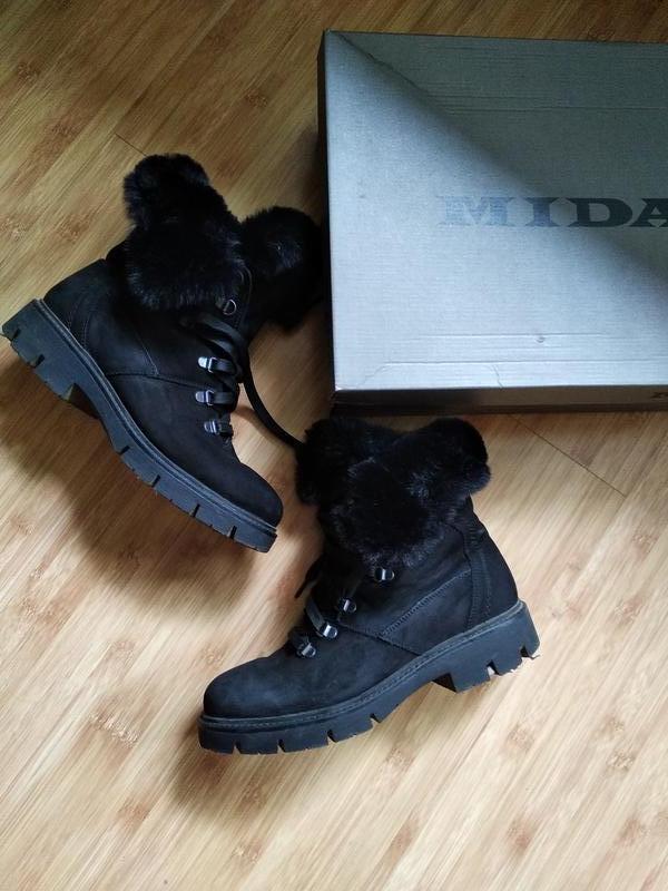 Зимние ботинки мида 24755 9 - Фото 10