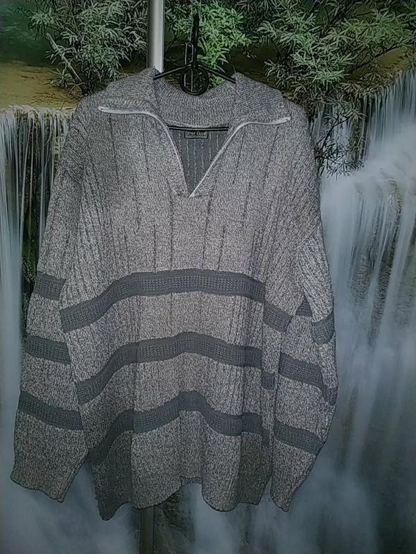 Кофта свитер мужской большой размер