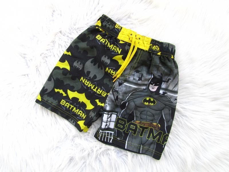 Спортивные  шорты плавки tu dc comics batman