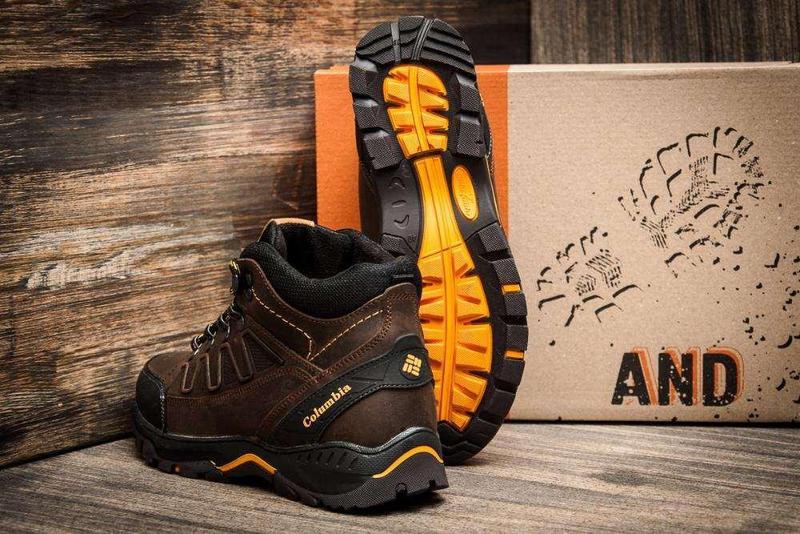 Мужские Зимние Кожаные Ботинки Columbia - Фото 3