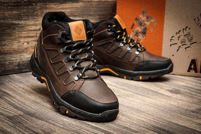 Мужские Зимние Кожаные Ботинки Columbia - Фото 2
