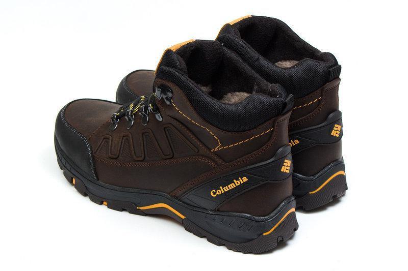 Мужские Зимние Кожаные Ботинки Columbia - Фото 7