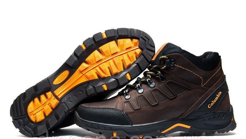 Мужские Зимние Кожаные Ботинки Columbia - Фото 6