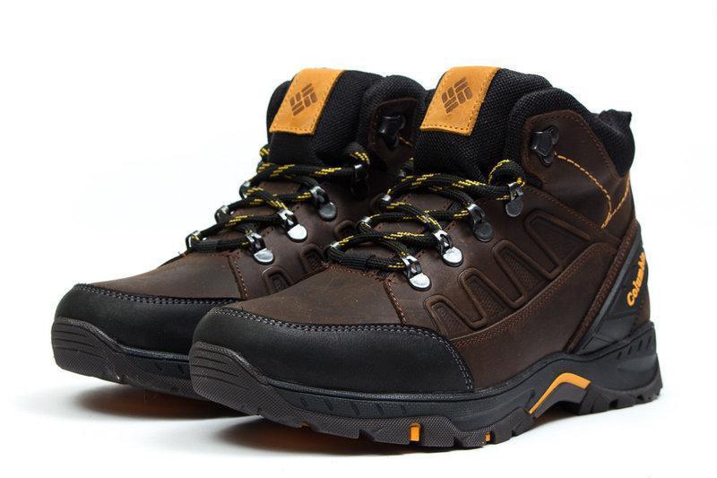 Мужские Зимние Кожаные Ботинки Columbia - Фото 8