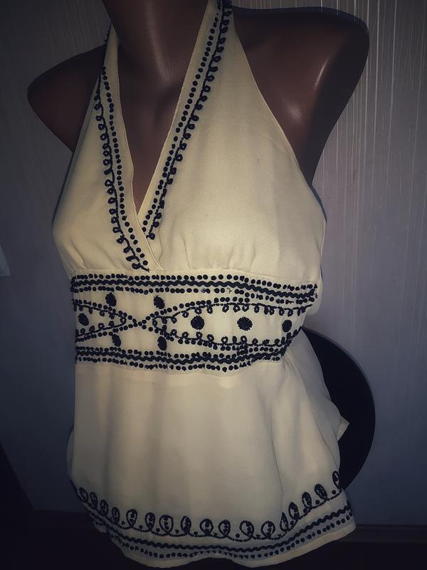 Очень красивая блуза с вышивкой - Фото 2
