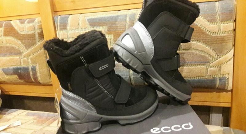 Зимние ботинки ecco biom hike - Фото 2