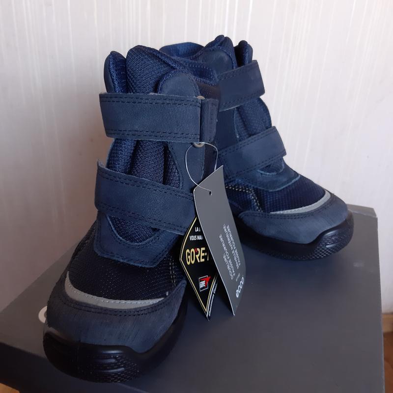 Очень крутые по качеству зимние ботинки ессо