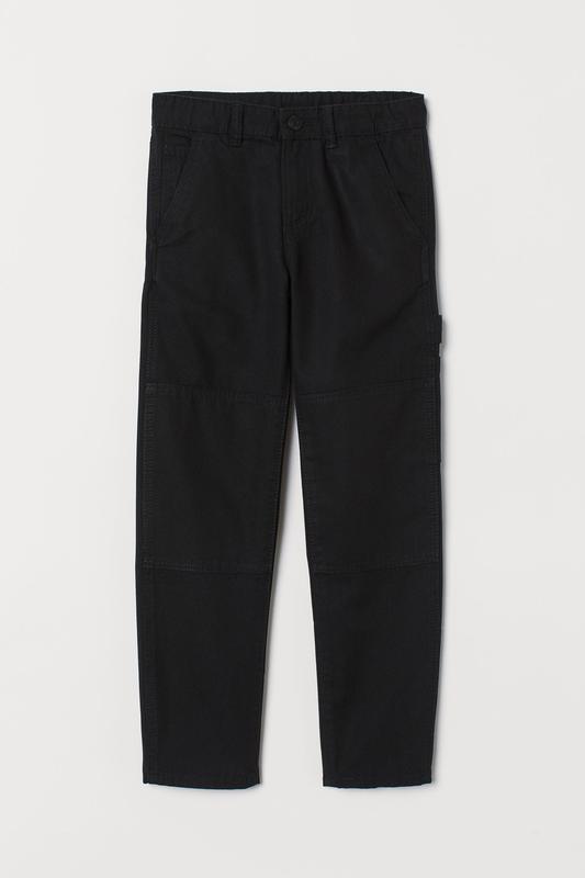 H&m плотные саржевые брюки штаны с карманами, премиум качество...