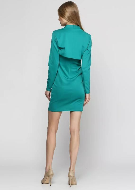 Платье с болеро - Фото 10
