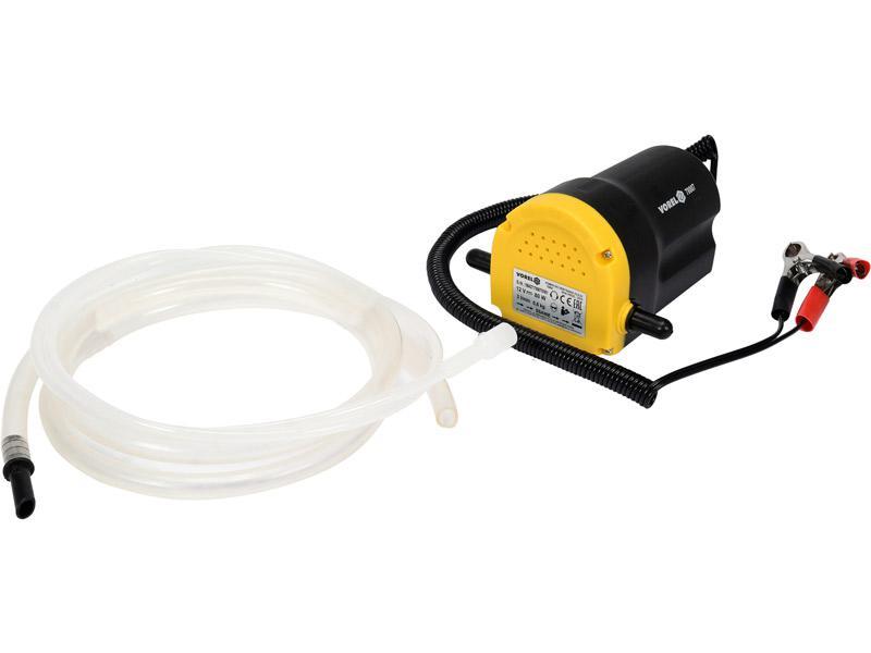 Электрический насос 12в для перекачки масла и солярки Vorel 78007