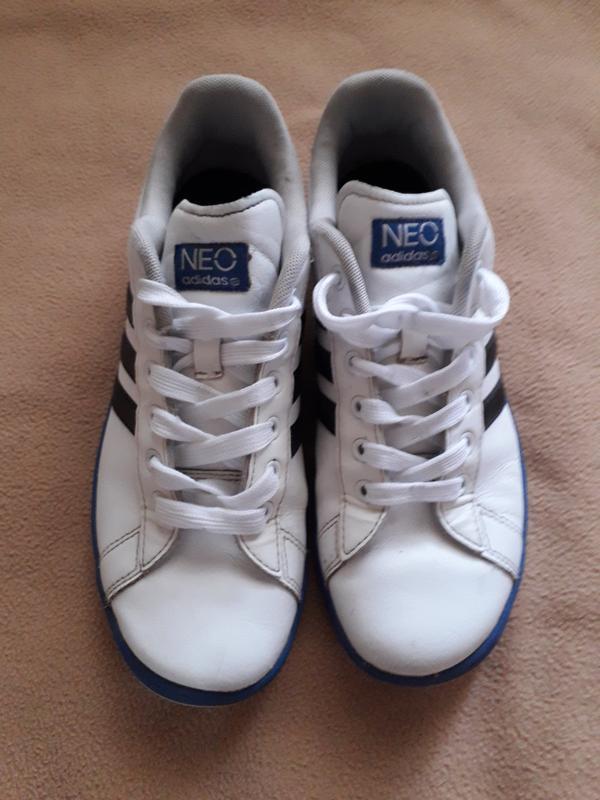 Кроссовки кожаные adidas neo - Фото 2