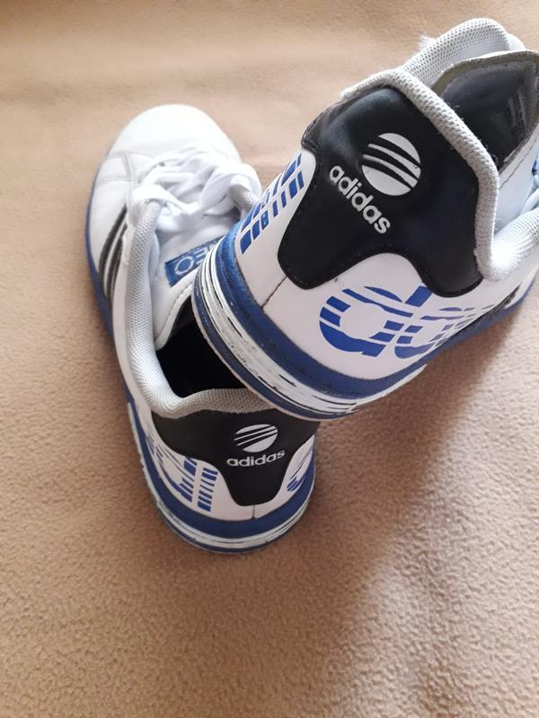 Кроссовки кожаные adidas neo - Фото 4