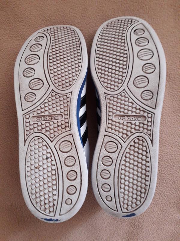 Кроссовки кожаные adidas neo - Фото 6