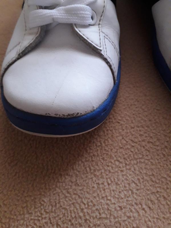 Кроссовки кожаные adidas neo - Фото 7