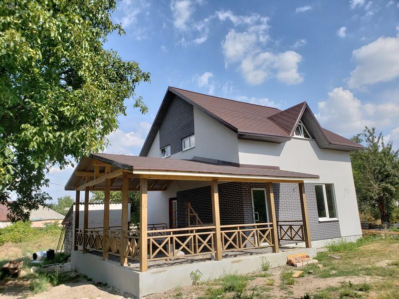 Дом новый с терассой