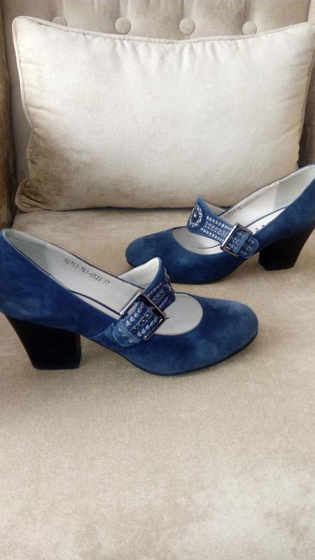 Туфли из натуральной замши, gotti, 37 размер