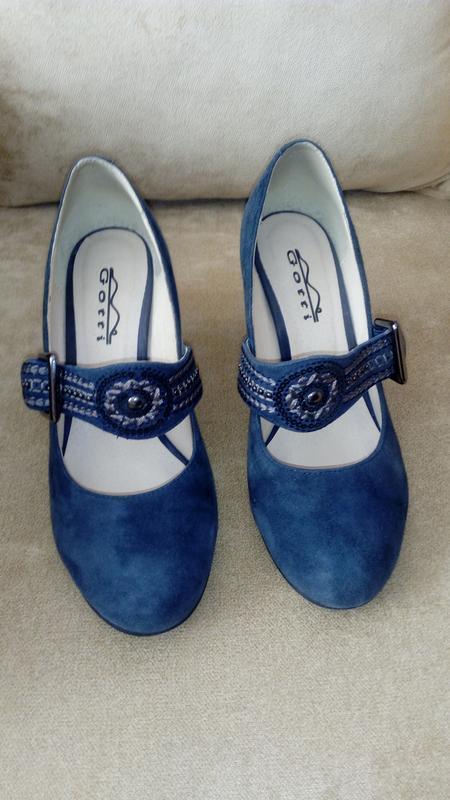 Туфли из натуральной замши, gotti, 37 размер - Фото 2