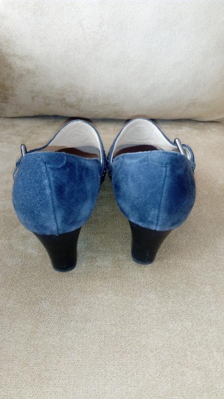 Туфли из натуральной замши, gotti, 37 размер - Фото 3