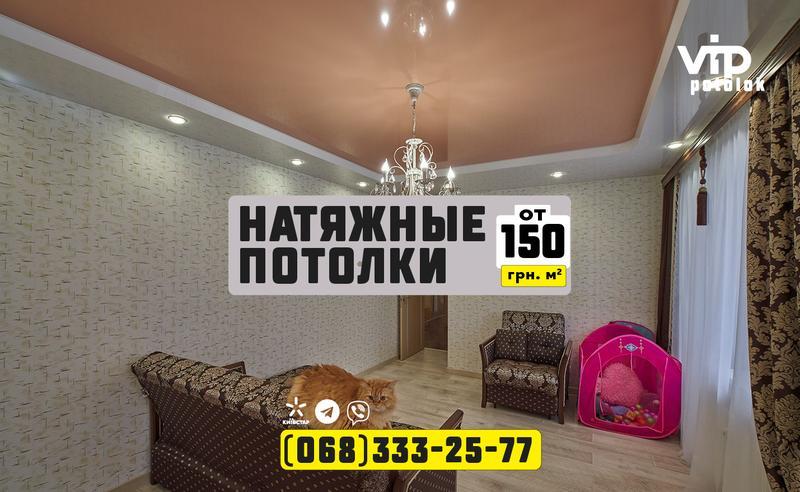 VipPotolok - ваш идеальный потолок / Днепр / от 150 грн.м2 - Фото 12