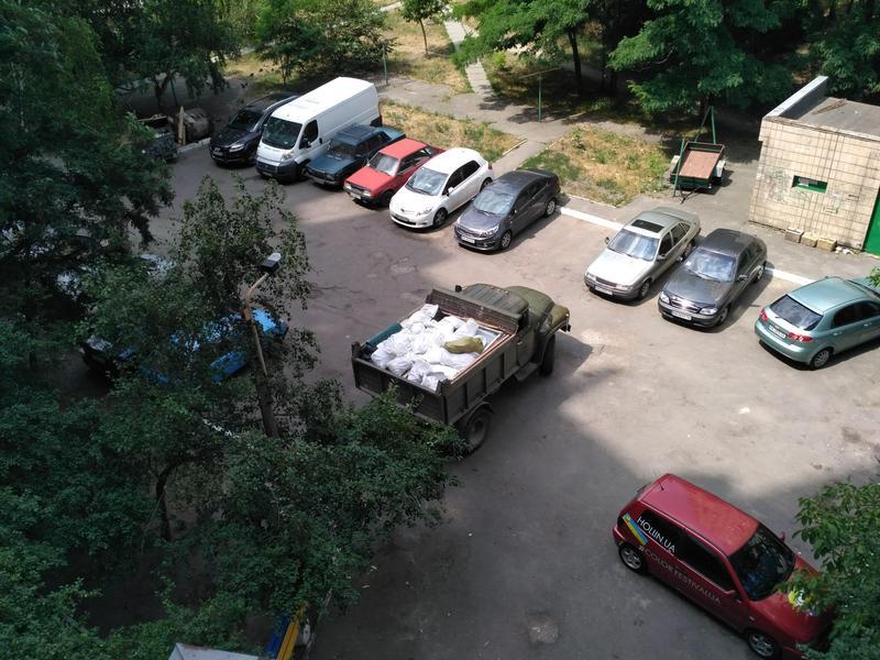 Вывоз строительного мусора. ЗИЛ - Фото 3