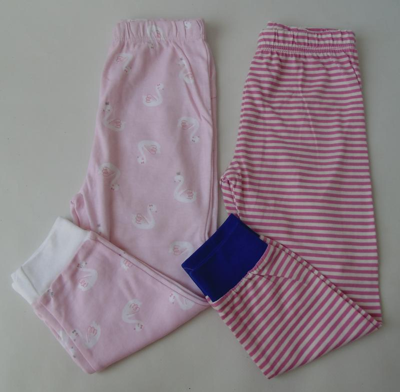 2 шт пижамные штаны primark англия 24-36 мес 98 см 2-3 г
