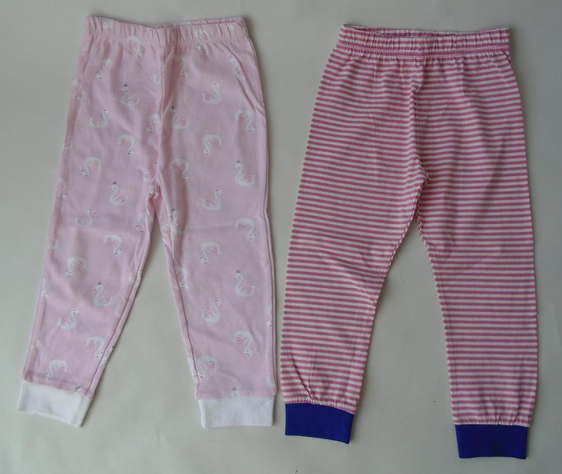 2 шт пижамные штаны primark англия 24-36 мес 98 см 2-3 г - Фото 3