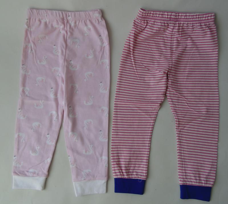 2 шт пижамные штаны primark англия 24-36 мес 98 см 2-3 г - Фото 6
