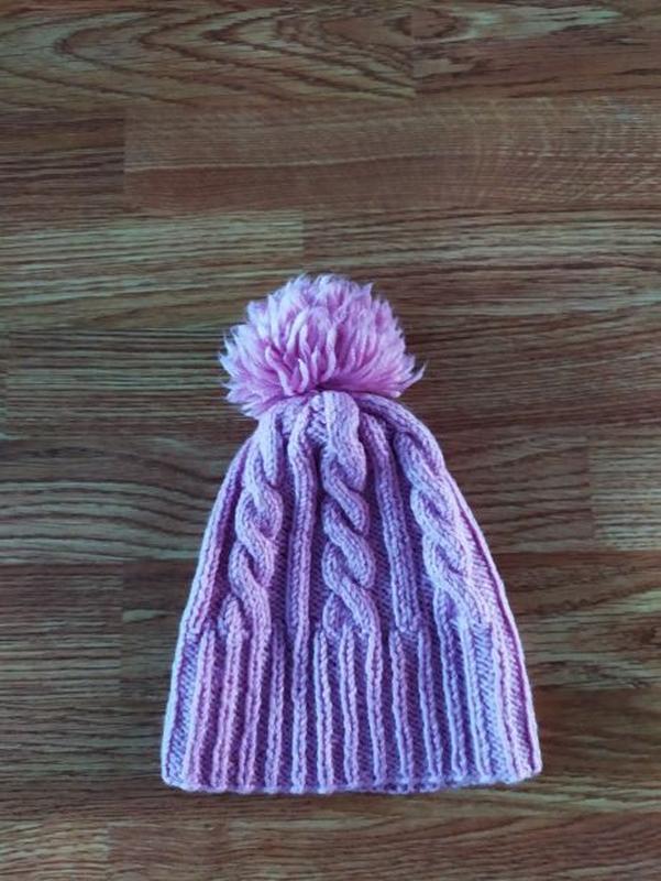 Вязаный свитер на девочку - Фото 4