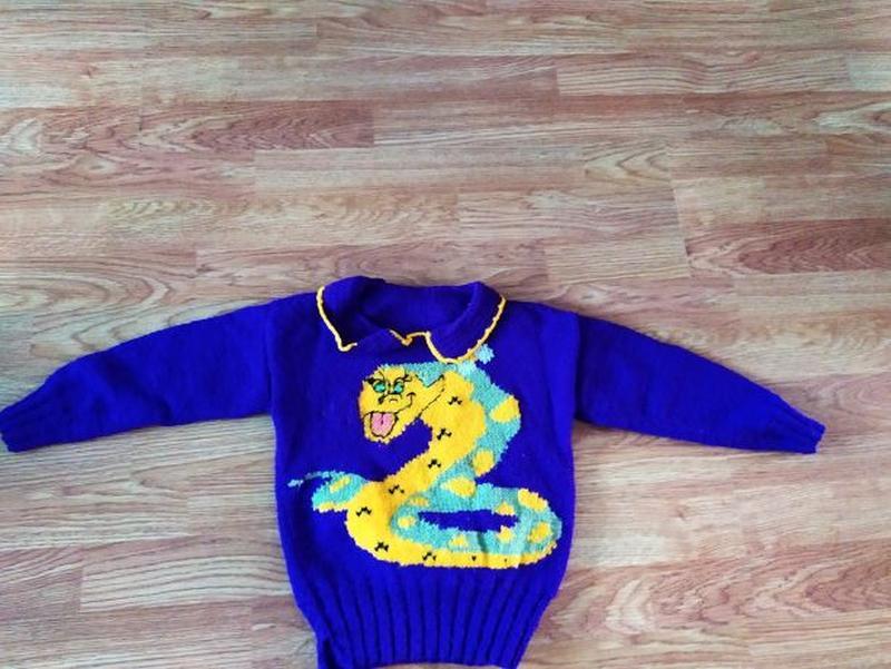 Вязанные свитера на девочку - Фото 2